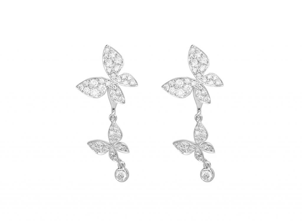 MIMI Jackets Farfalla Oro Blanco y Diamantes