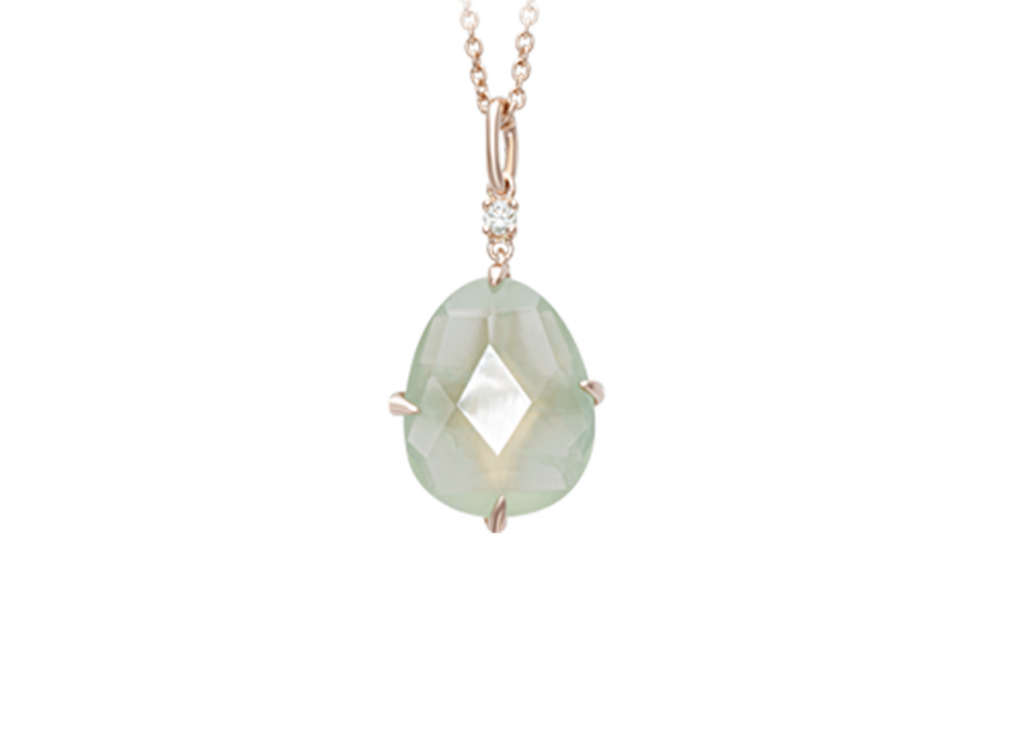 MIMI Collar Mila Prenhite y Diamante